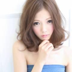 モテ髪 フェミニン 大人かわいい 秋 ヘアスタイルや髪型の写真・画像