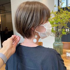 ショートヘア ナチュラル ベリーショート ミニボブ ヘアスタイルや髪型の写真・画像