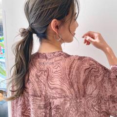 簡単ヘアアレンジ ロング ヘアアレンジ ナチュラル ヘアスタイルや髪型の写真・画像