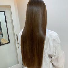 髪質改善 ナチュラル ロングヘア 大人かわいい ヘアスタイルや髪型の写真・画像