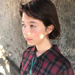 外国人風 ニュアンス ハイライト アッシュ ヘアスタイルや髪型の写真・画像
