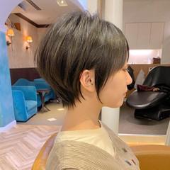 ショートヘア 大人ヘアスタイル ショート ナチュラル ヘアスタイルや髪型の写真・画像