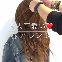 謝恩会 フェミニン ヘアアレンジ 結婚式 ヘアスタイルや髪型の写真・画像