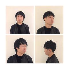 ナチュラル メンズマッシュ 刈り上げ ショート ヘアスタイルや髪型の写真・画像