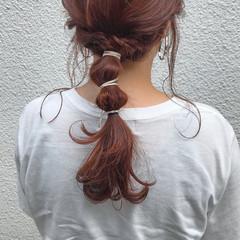 お呼ばれヘア ロング 浴衣アレンジ ヘアアレンジ ヘアスタイルや髪型の写真・画像