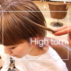 ハイトーン ハイトーンボブ ストリート ウルフカット ヘアスタイルや髪型の写真・画像