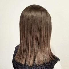 ミディアム ナチュラル グラデーションカラー デート ヘアスタイルや髪型の写真・画像