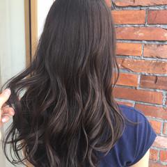 外国人風カラー ロング 大人かわいい 透明感 ヘアスタイルや髪型の写真・画像
