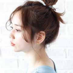 セミロング 外国人風 大人女子 ショート ヘアスタイルや髪型の写真・画像