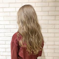 外国人風カラー ロング ブリーチ 外国人風 ヘアスタイルや髪型の写真・画像
