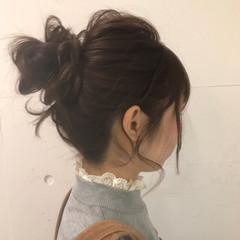 ミルクティー 大人女子 ハーフアップ ヘアアレンジ ヘアスタイルや髪型の写真・画像