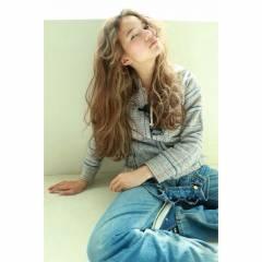 パンク 外国人風 ロング ストリート ヘアスタイルや髪型の写真・画像