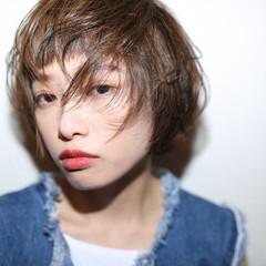 ハイライト ショート モード 外国人風 ヘアスタイルや髪型の写真・画像