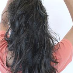 ナチュラル 極細ハイライト 艶髪 透明感 ヘアスタイルや髪型の写真・画像