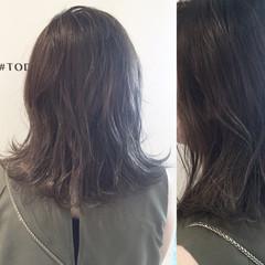 ボブ アッシュ マット ストリート ヘアスタイルや髪型の写真・画像