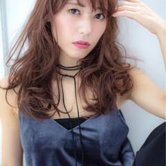 前髪あり ロング モード 秋 ヘアスタイルや髪型の写真・画像