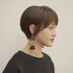 ショートボブ 30代 20代 ショートヘア ヘアスタイルや髪型の写真・画像