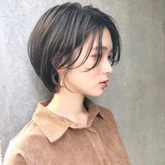 ショート 簡単ヘアアレンジ ナチュラル ヘアアレンジ ヘアスタイルや髪型の写真・画像