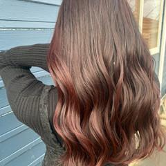 セミロング イルミナカラー 透明感カラー ブリーチなし ヘアスタイルや髪型の写真・画像