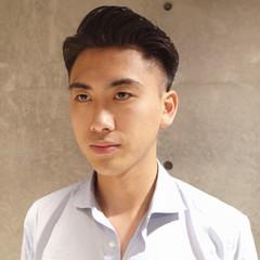 ツーブロック メンズヘア 刈り上げ コンサバ ヘアスタイルや髪型の写真・画像