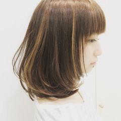 外国人風 女子会 デート ハイライト ヘアスタイルや髪型の写真・画像