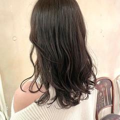 韓国ヘア ミディアム ナチュラル オルチャン ヘアスタイルや髪型の写真・画像