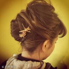 ヘアアレンジ グラデーションカラー 外国人風 フェミニン ヘアスタイルや髪型の写真・画像
