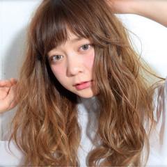 ストリート ハイトーン 外国人風 ロング ヘアスタイルや髪型の写真・画像