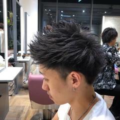 ダブルカラー ベリーショート メンズショート メンズヘア ヘアスタイルや髪型の写真・画像