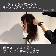フェミニン ルーズ デート セミロング ヘアスタイルや髪型の写真・画像