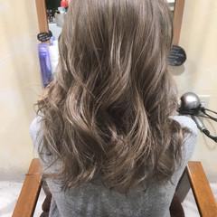 ハイライト 前髪あり 外国人風 グラデーションカラー ヘアスタイルや髪型の写真・画像