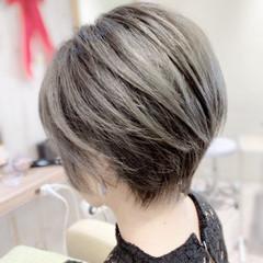 ショート ショートヘア ベリーショート ショートボブ ヘアスタイルや髪型の写真・画像
