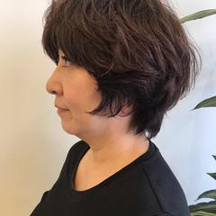 コンサバ オフィス 簡単ヘアアレンジ マッシュウルフ ヘアスタイルや髪型の写真・画像