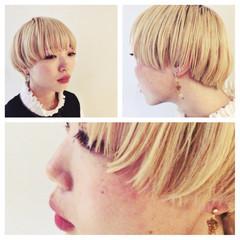 ストリート マッシュ 外国人風 ボブ ヘアスタイルや髪型の写真・画像