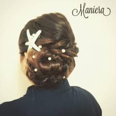 ヘアアレンジ モテ髪 結婚式 愛され ヘアスタイルや髪型の写真・画像