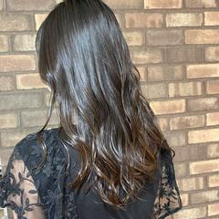 グラデーションカラー 艶髪 透明感 ナチュラル ヘアスタイルや髪型の写真・画像