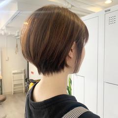 ショート ショートヘア ストリート ハンサムショート ヘアスタイルや髪型の写真・画像