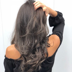 透明感 エレガント 上品 イルミナカラー ヘアスタイルや髪型の写真・画像