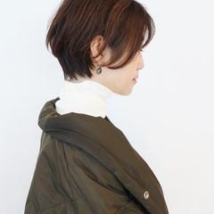 ハイライト ナチュラル ショートヘア ベリーショート ヘアスタイルや髪型の写真・画像