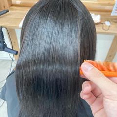 モテ髪 ミディアム 簡単ヘアアレンジ ナチュラル ヘアスタイルや髪型の写真・画像