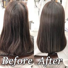 ナチュラル 美髪 髪質改善 髪質改善トリートメント ヘアスタイルや髪型の写真・画像