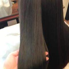 エレガント 外国人風カラー アッシュブラウン 透明感 ヘアスタイルや髪型の写真・画像