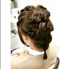 ショート 簡単ヘアアレンジ ヘアアレンジ ボブ ヘアスタイルや髪型の写真・画像