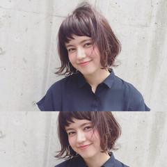 ガーリー ワイドバング ピュア パーマ ヘアスタイルや髪型の写真・画像