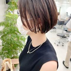 ゆるふわ オフィス ショート ベリーショート ヘアスタイルや髪型の写真・画像