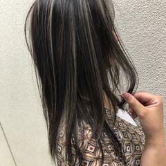 ヘアアレンジ オフィス ロング ナチュラル ヘアスタイルや髪型の写真・画像