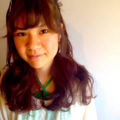 ゆるふわ ロング ガーリー ヘアアレンジ ヘアスタイルや髪型の写真・画像