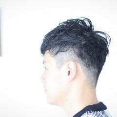 ナチュラル ショート メンズカット メンズパーマ ヘアスタイルや髪型の写真・画像