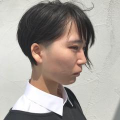 ショートボブ ショート 刈り上げ 刈り上げ女子 ヘアスタイルや髪型の写真・画像