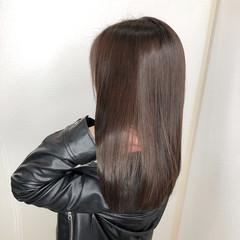 髪質改善トリートメント ナチュラル チョコレート グラデーションカラー ヘアスタイルや髪型の写真・画像
